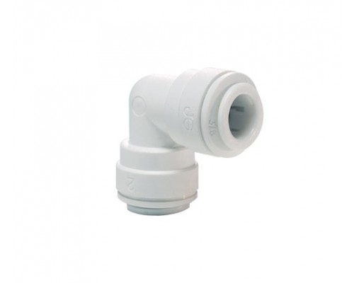 8mm Σύνδεσμος Γωνιακός White PP