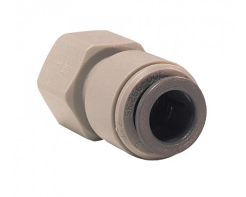 15mm x 3/8 BSP Adaptor Θηλυκός Grey