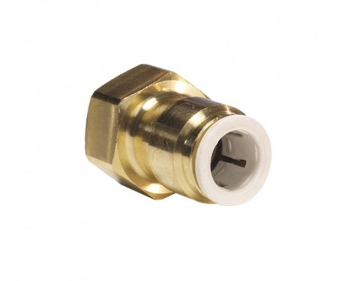 "3/8"" x 1/4 Flare Adaptor θηλυκό Brass"