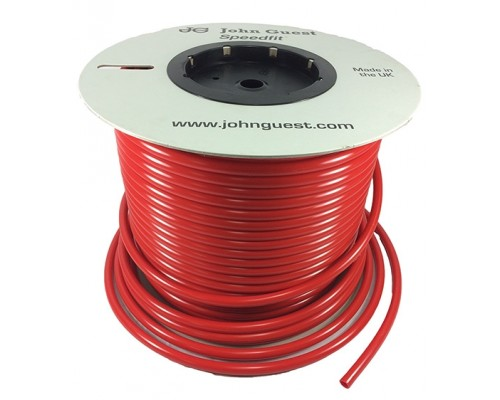 """1/2"""" x 0.375"""" LLDPE Tubing Red"""