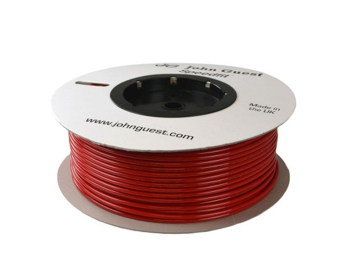 4mm x 2,5mm LLDPE Tubing Red