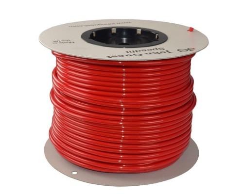 10mm x 7mm LLDPE Tubing Red