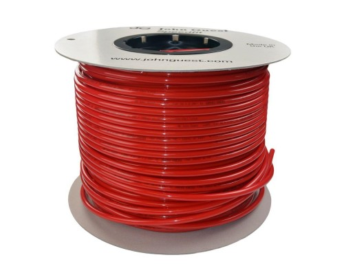 8mm x 6mm LLDPE Tubing Red