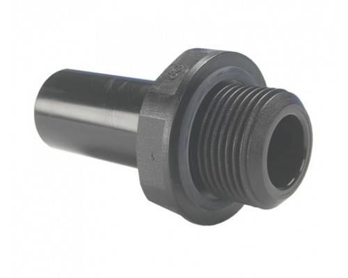 12mm x 3/8 BSP Μεικτός Μαστός Black
