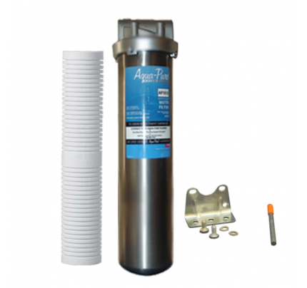 AP2610 SS /AP110 x2 Φίλτρα νερού κεντρικής παροχής 3Μ™