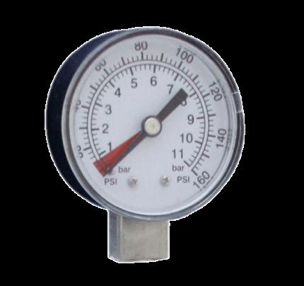 Μανόμετρο κεφαλής για φίλτρα νερού κεντρικής παροχής 3Μ