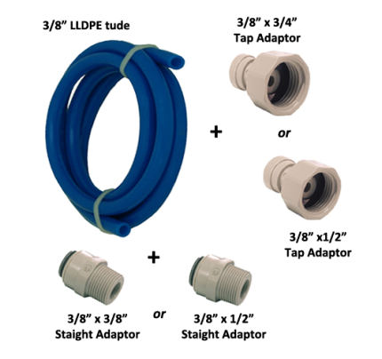 i-Kit VH3-JG Κιτ Εγκατάστασης για φίλτρα νερού DIY