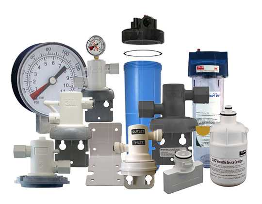 Filtration systems spare parts