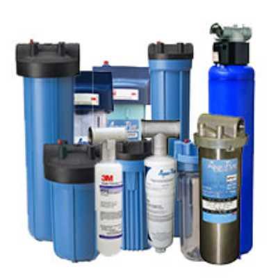 Φίλτρα νερού 3Μ κεντρικής παροχής